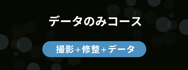 データのみコース 【撮影 + 修整 + データ】